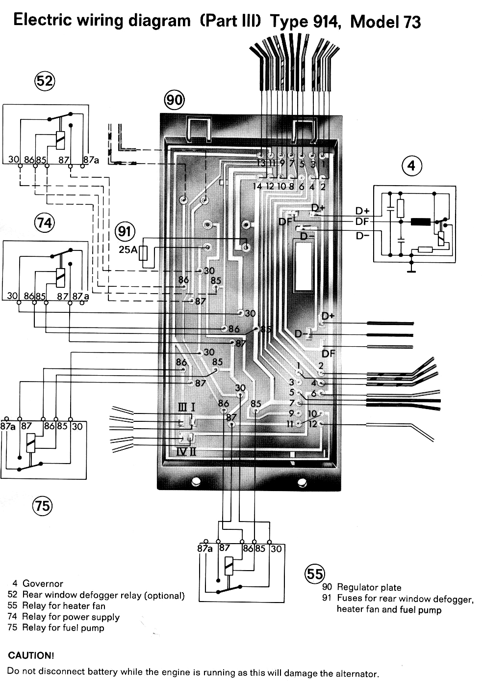 porsche 912 engine diagram this wiring is for