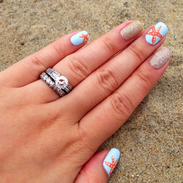 sandy beach nails