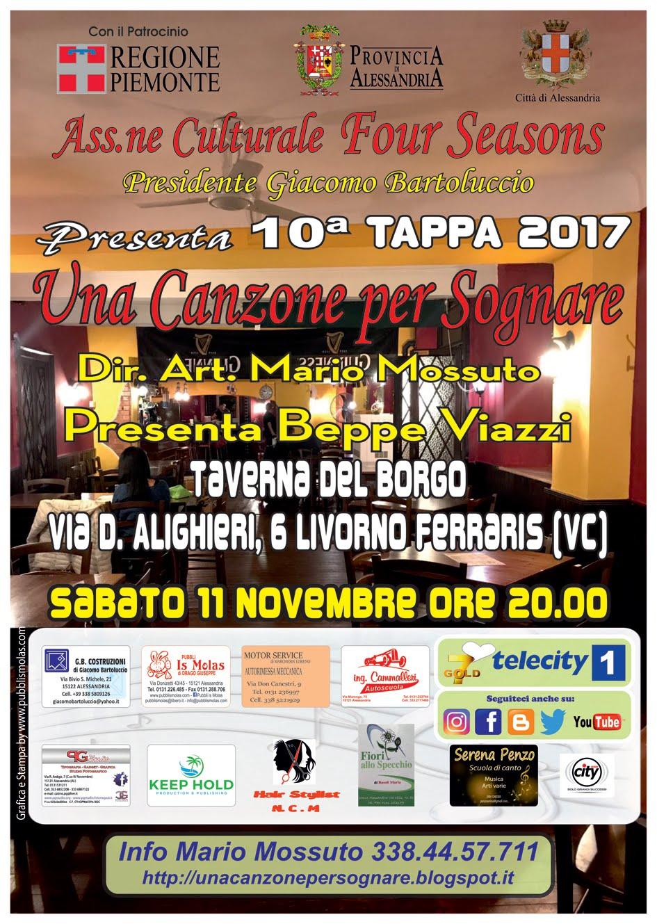 10^Tappa Una Canzone per Sognare