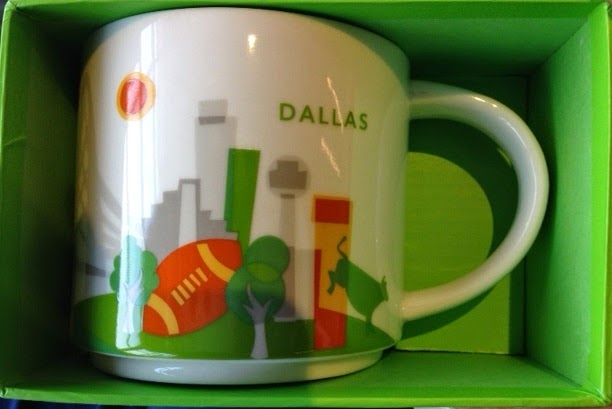 Starbucks You Are Here Collection Dallas Love Field Airport