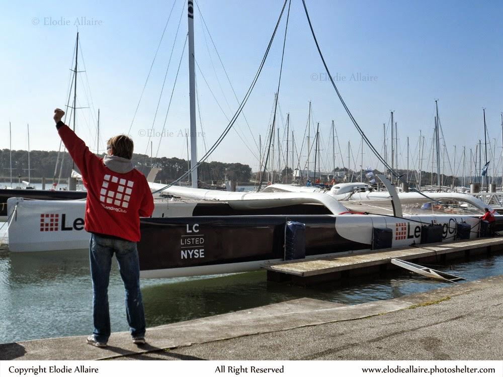 Lending Club 2 mis à l'eau à Lorient.