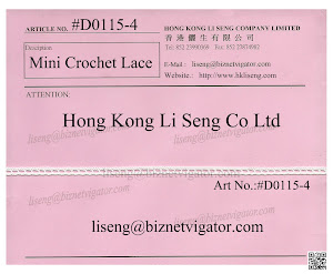 Mini Crochet Lace Trims Manufacturer - Hong Kong Li Seng Co Ltd