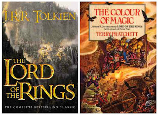You enjoyed Lord of the Rings, try the Discworld series.