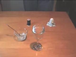 Experimentos caseros fisica hielo sal hilo