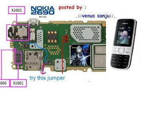 Nokia 2690 MMC IC jumper Solution