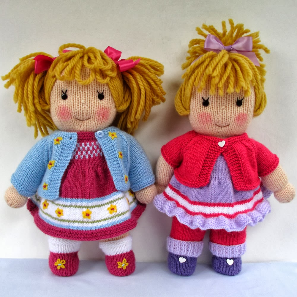 Free Patterns For Knitted Dolls : Flutterby Patch: NEW doll pattern