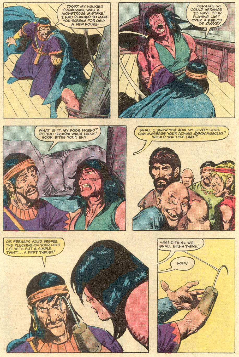 Conan the Barbarian (1970) Issue #140 #152 - English 7