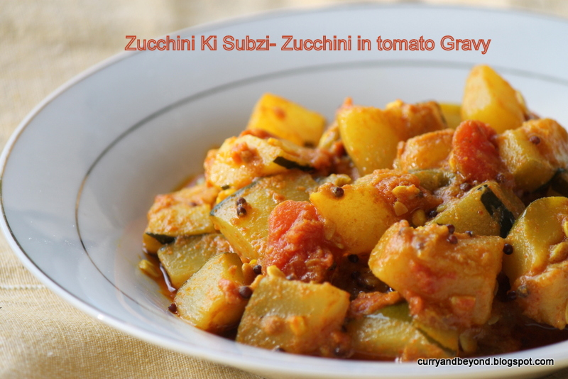 Curry and beyond zucchini in tomato sauce zucchini ki subzi no this recipe is without onion and garlic feel free to use it in this recipe though im just trying to have a few recipes without using onion and garlic forumfinder Choice Image