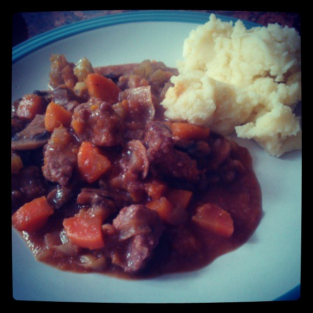 Casserole with Mash Potato