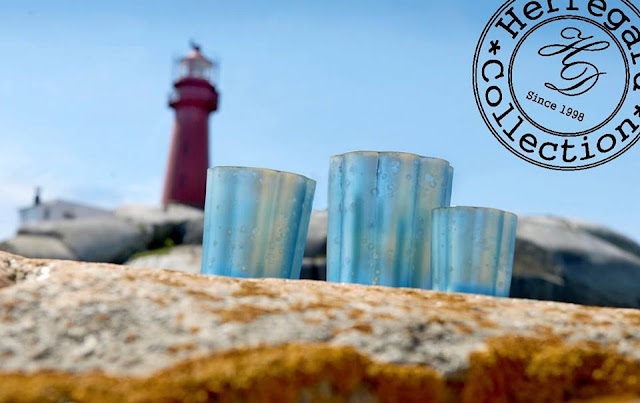 seaside candle holders