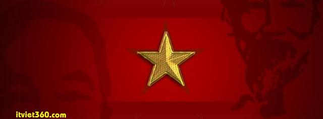 Ảnh bìa Facebook Việt Nam cờ đỏ sao vàng - Cover FB