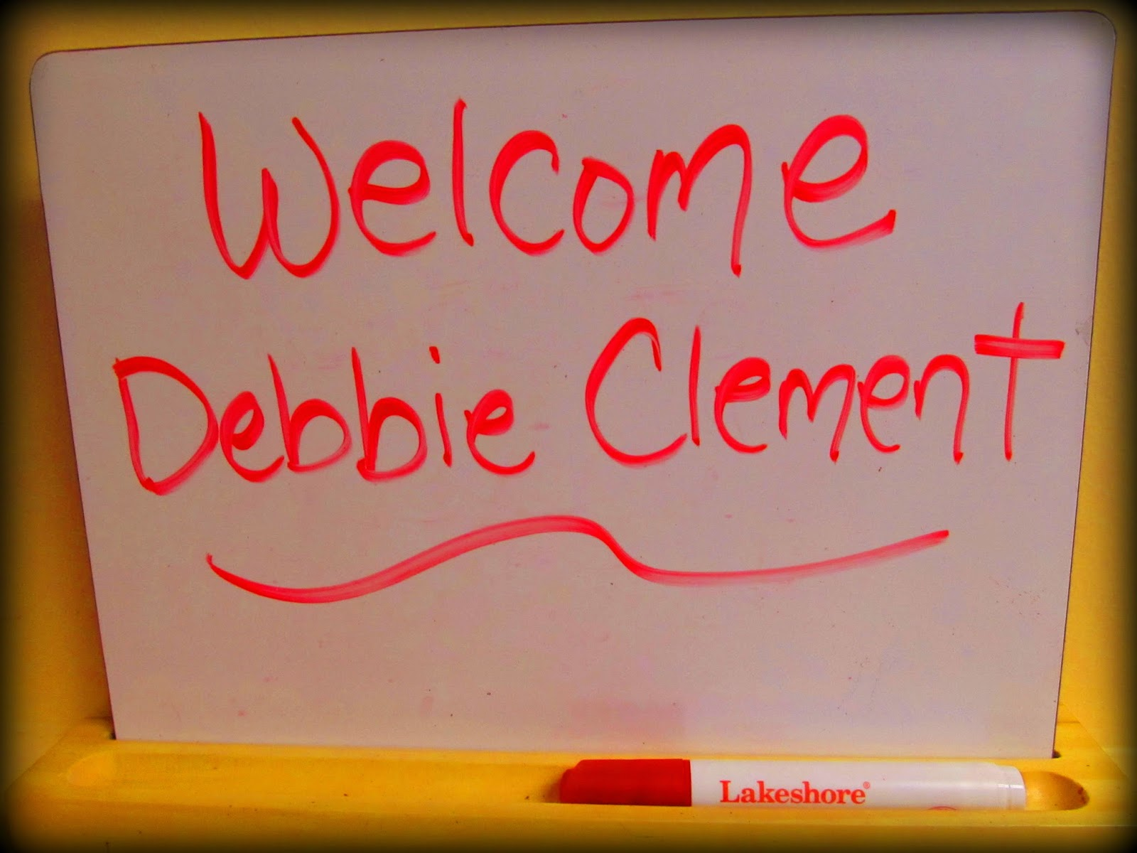 Welcome Debbie Clement