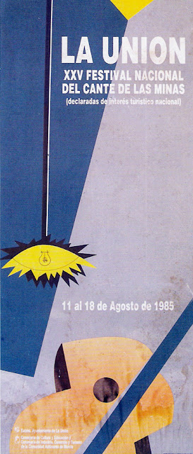 Cartel del Cante de las Minas de 1985