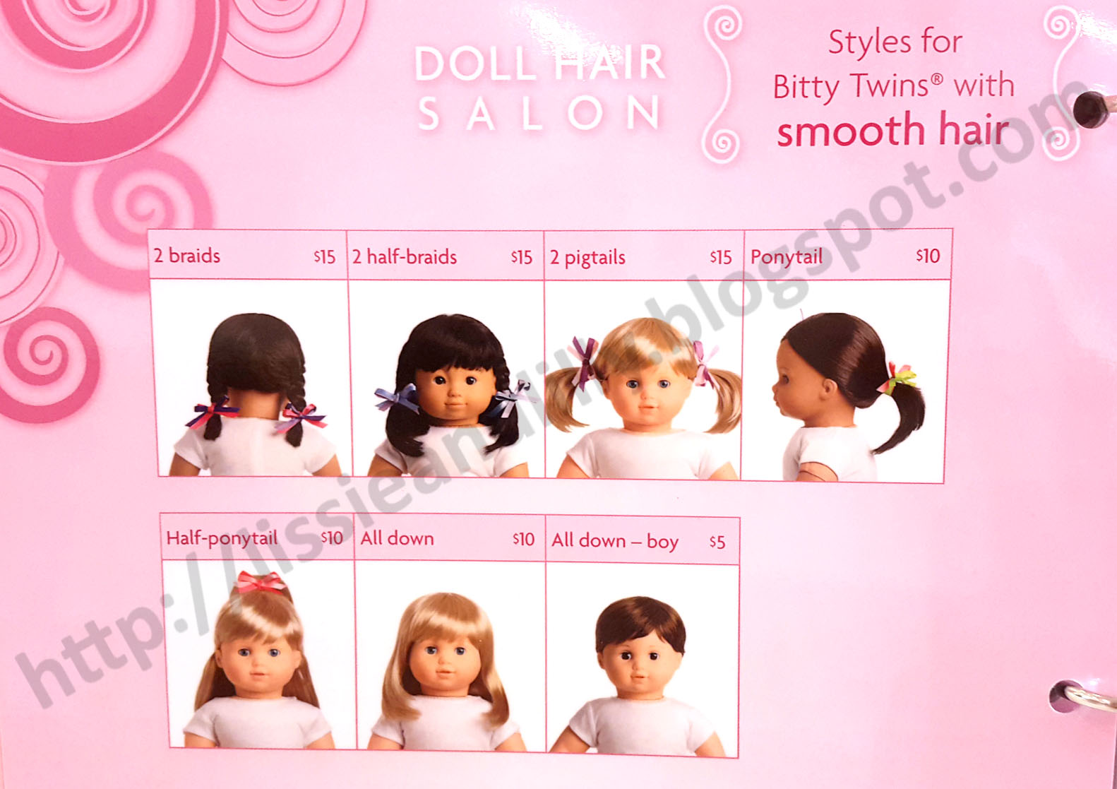 how to clean american doll hair