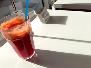 Detox juice at Joy Discovery - Bent St, Adelaide, Vegan