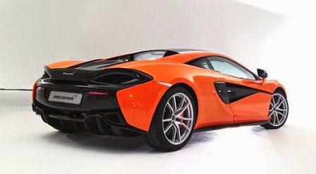 McLaren presenta su cupé 570S, el primer auto deportivo de la marca