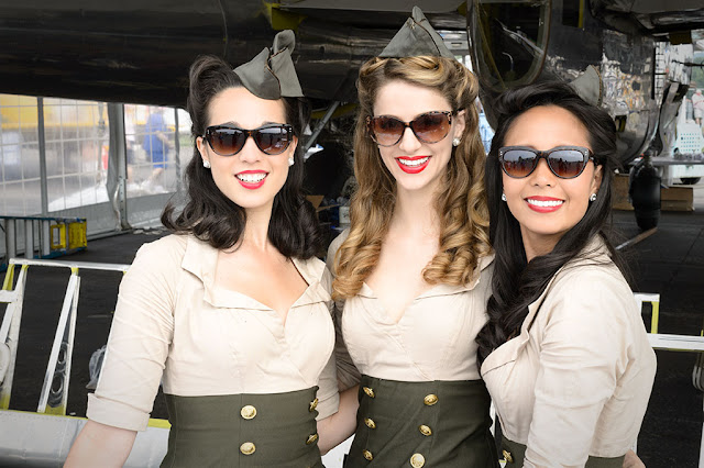 Pinups at WWII Weekend