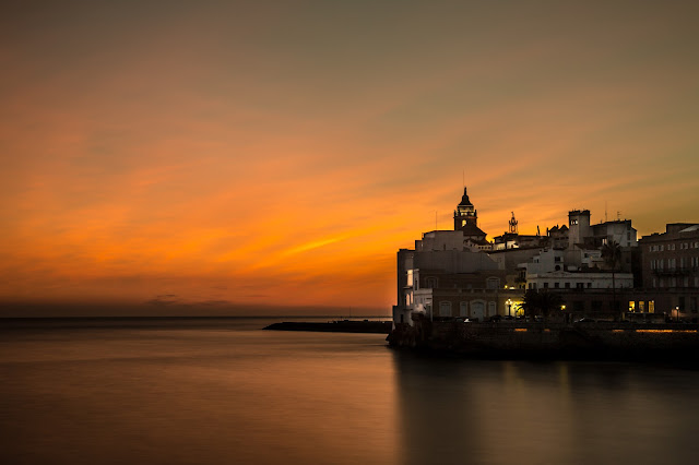 Sunset Sitges :: Canon EOS5D MkIII | ISO100 | Canon 24-105@60mm | f/9 | 120s