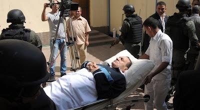 Permintaan Terakhir Mubarak: ''Istriku, Siapkan Kuburanku''