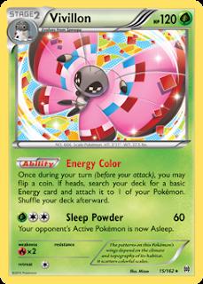 Vivillon BREAKthrough Pokemon Card