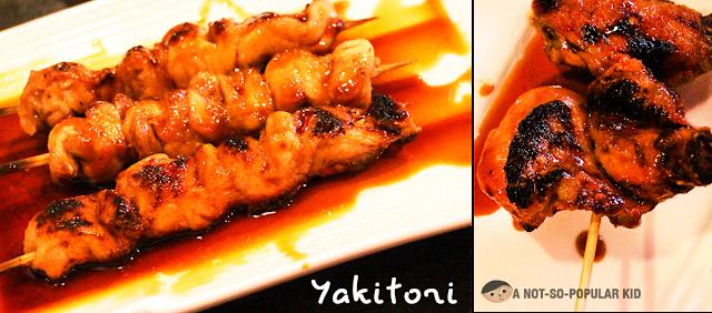 Yakitori and Chicken Wings (Tebasaki) of Kamameshi House