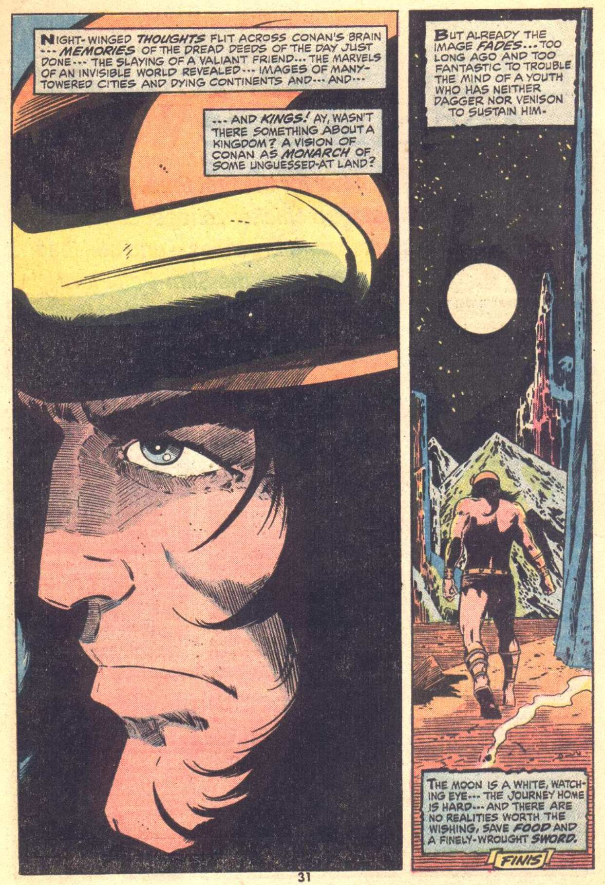 Conan the Barbarian (1970) Issue #22 #34 - English 22
