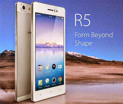 oppo r5 smartphone paling tipis sedunia