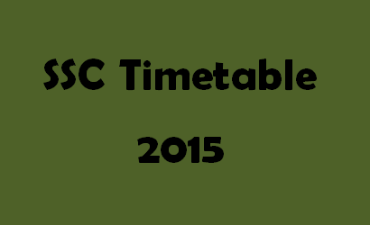 SSC Timetable 2016 Logo