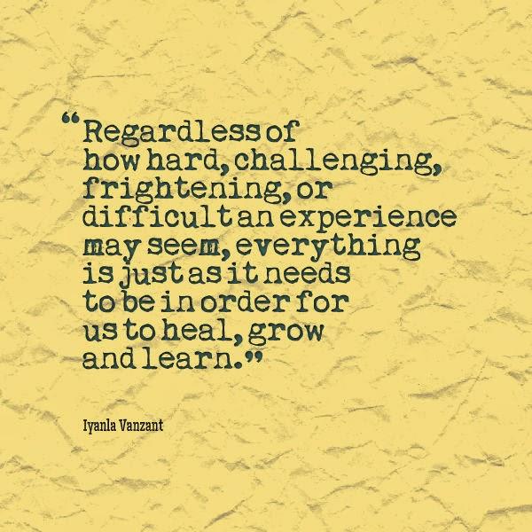 Healing Inspirational Quote by Iyanla Vanzant