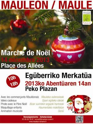 marché de noel 2013 mauléon licharre