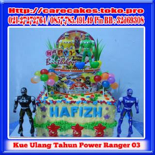 kue ulang tahun anak power ranger 03 kue ulang tahun