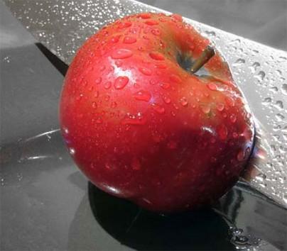 التفاح يقي من خطر الجلطات