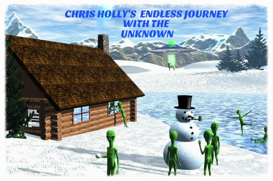 CHRIS HOLLY'S Endless Journey in to the Unknown