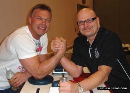 Dannis Rogers Arm-Wrestling