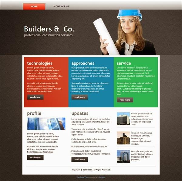 Builders & Co. - Free Wordpress Theme