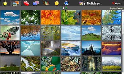 выбор фоновой картинки в бесплатном онлайн фото редакторе piZap для новичков
