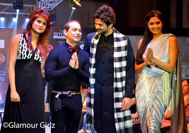 Arya Banerjee, Rakesh Bapat &  Priyanka Shah along with the very talented designer.