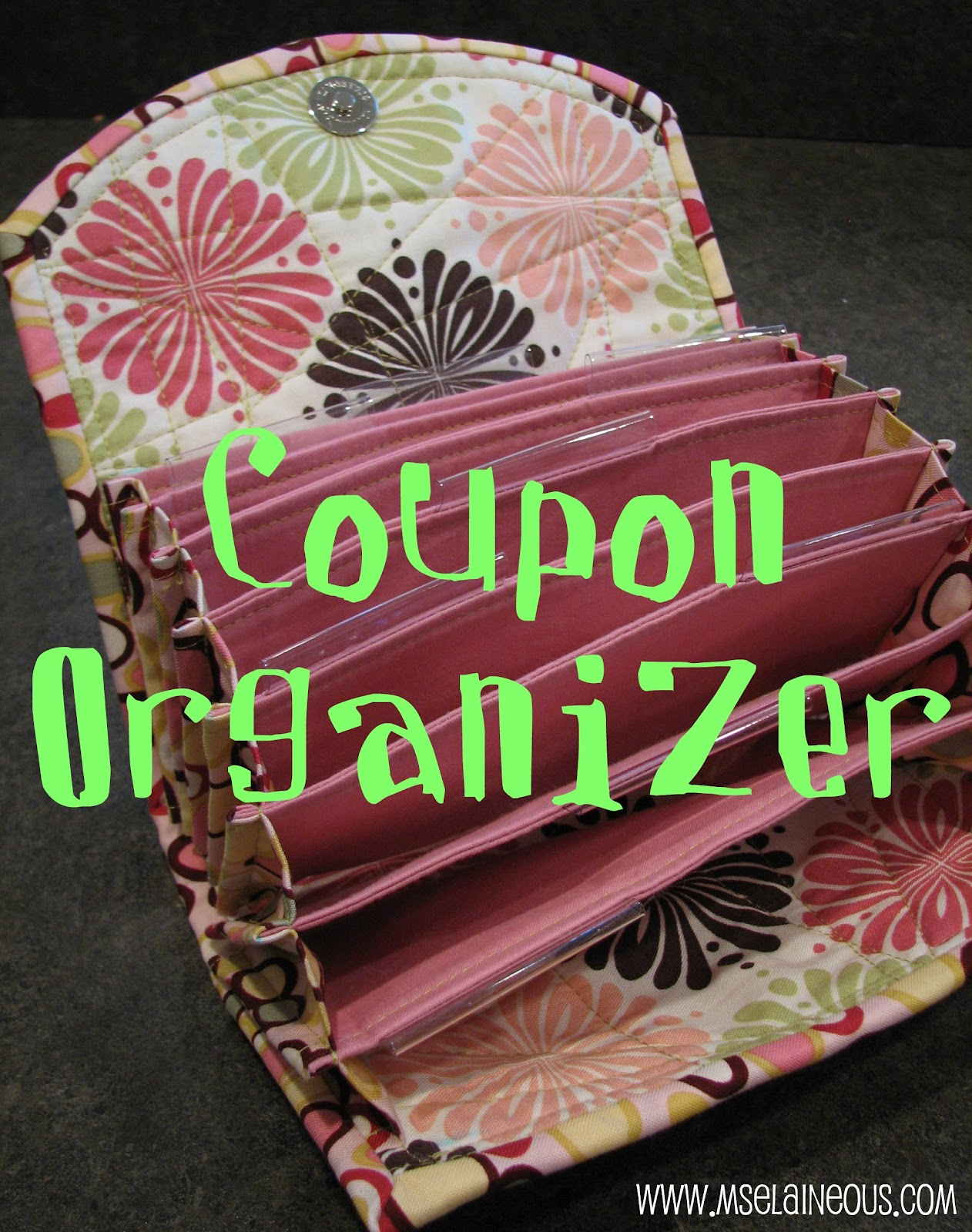 Coupon organizer