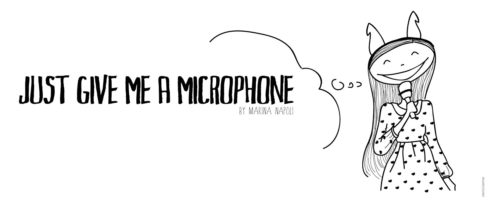 JUST GIVE ME A MICROPHONE!!!