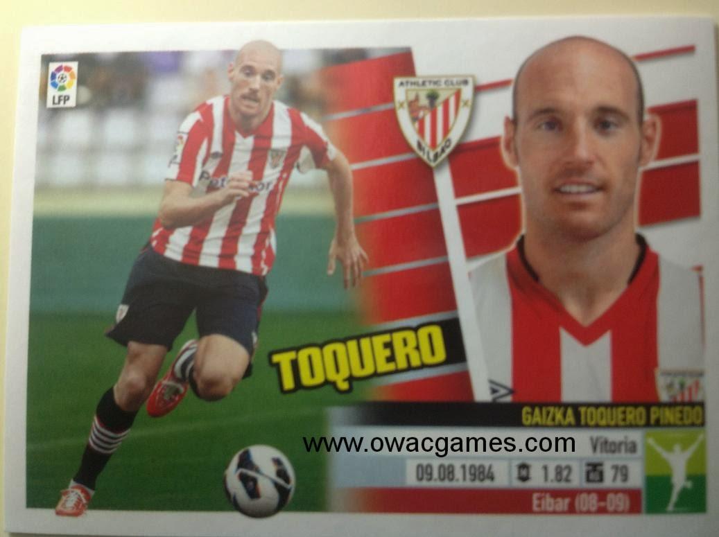 Liga ESTE 2013-14 Ath. Bilbao - 14A - Toquero
