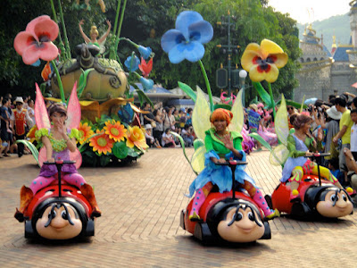 Tinkerbell Carriage at Hong Kong Disneyland