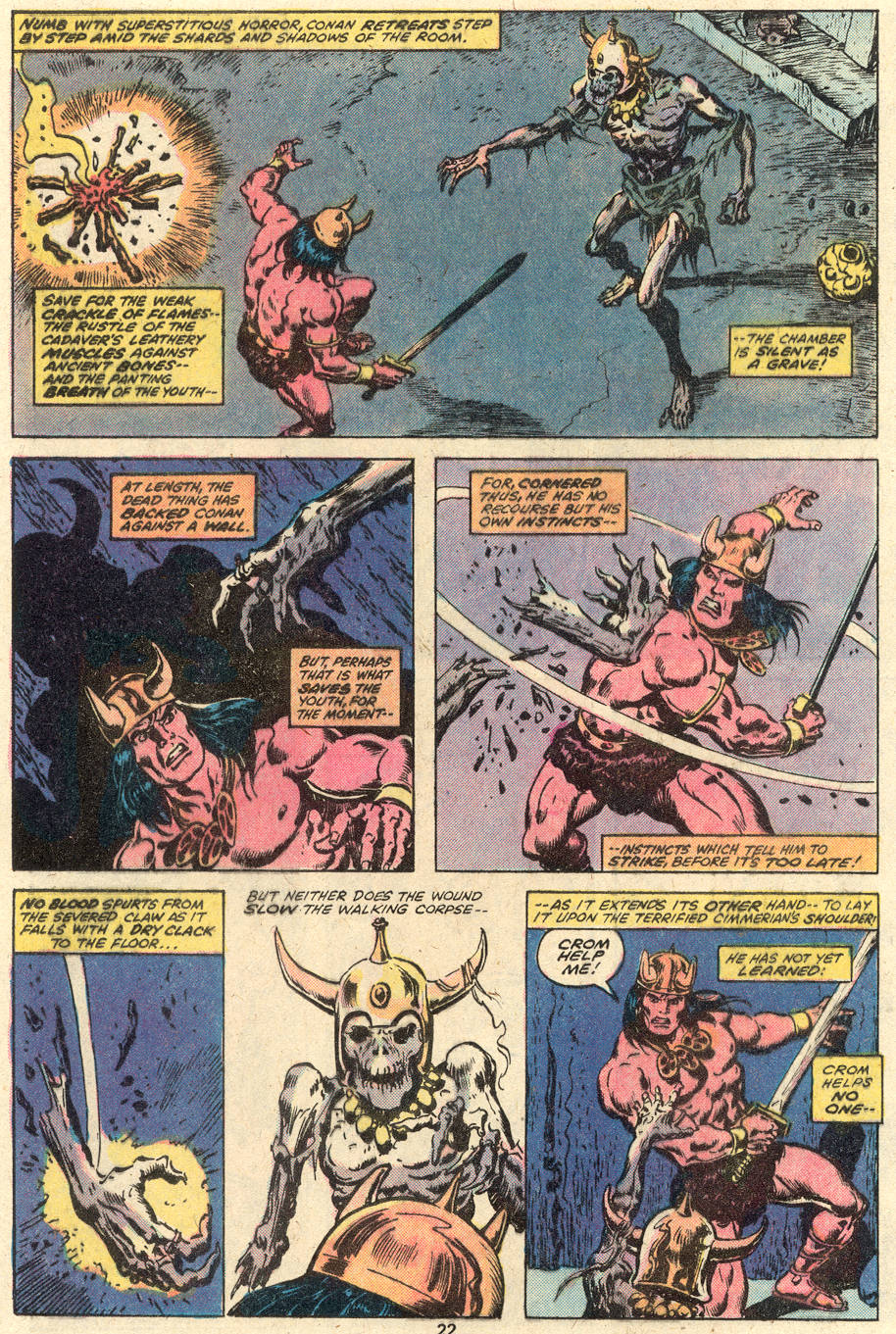 Conan the Barbarian (1970) Issue #92 #104 - English 13