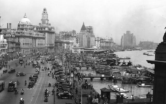 Shanghai, China en 1930 - Paisajes de Ciudades