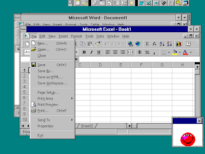 screenshot foto windows Nt351excel