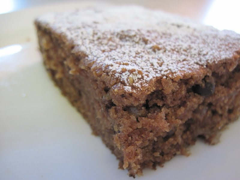 Simple Healthy Tasty Applesauce Cake