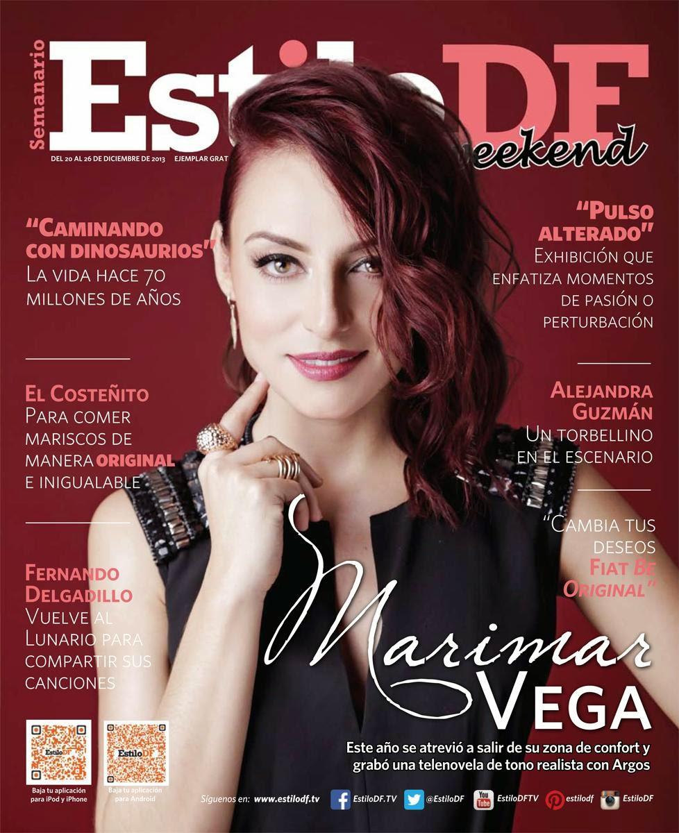 Marimar Vega For Estilo DF Magazine December 2013