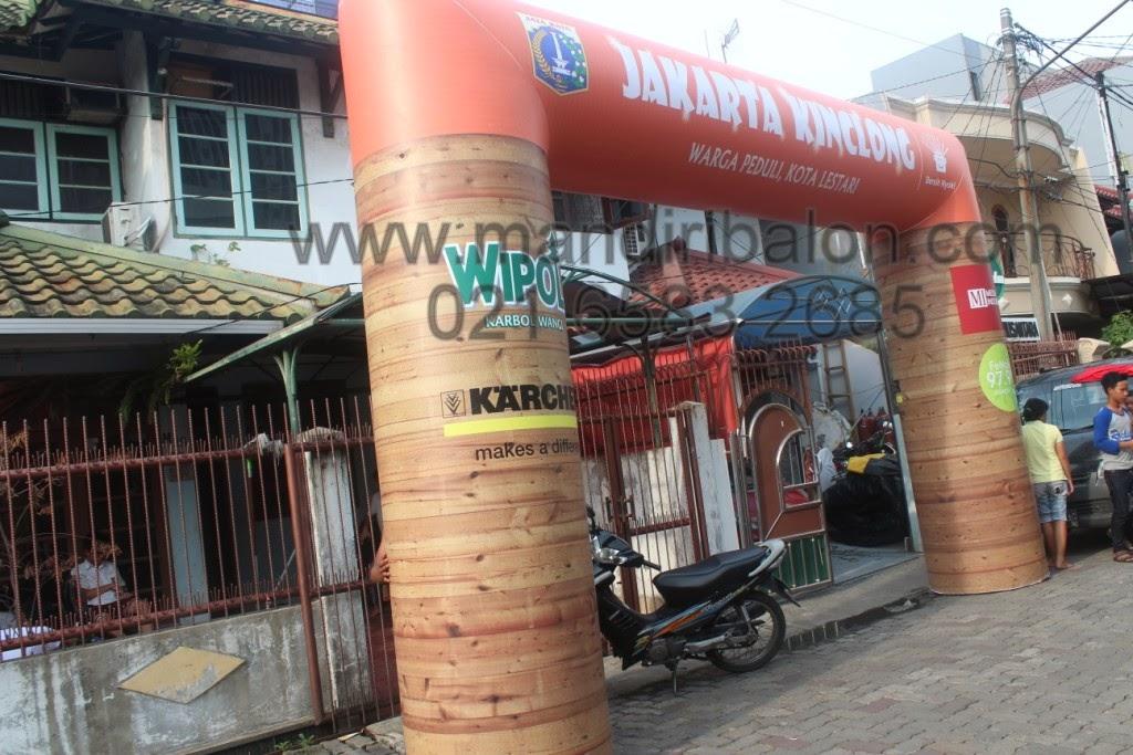 Balon Gate Jakarta Kinclong