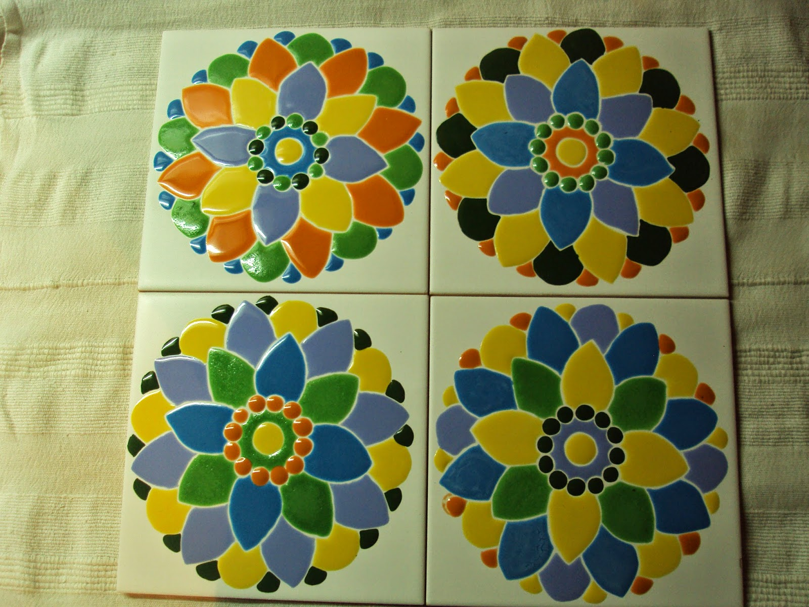 Betuart azulejos artesanales estilo mexico for Azulejos artesanales