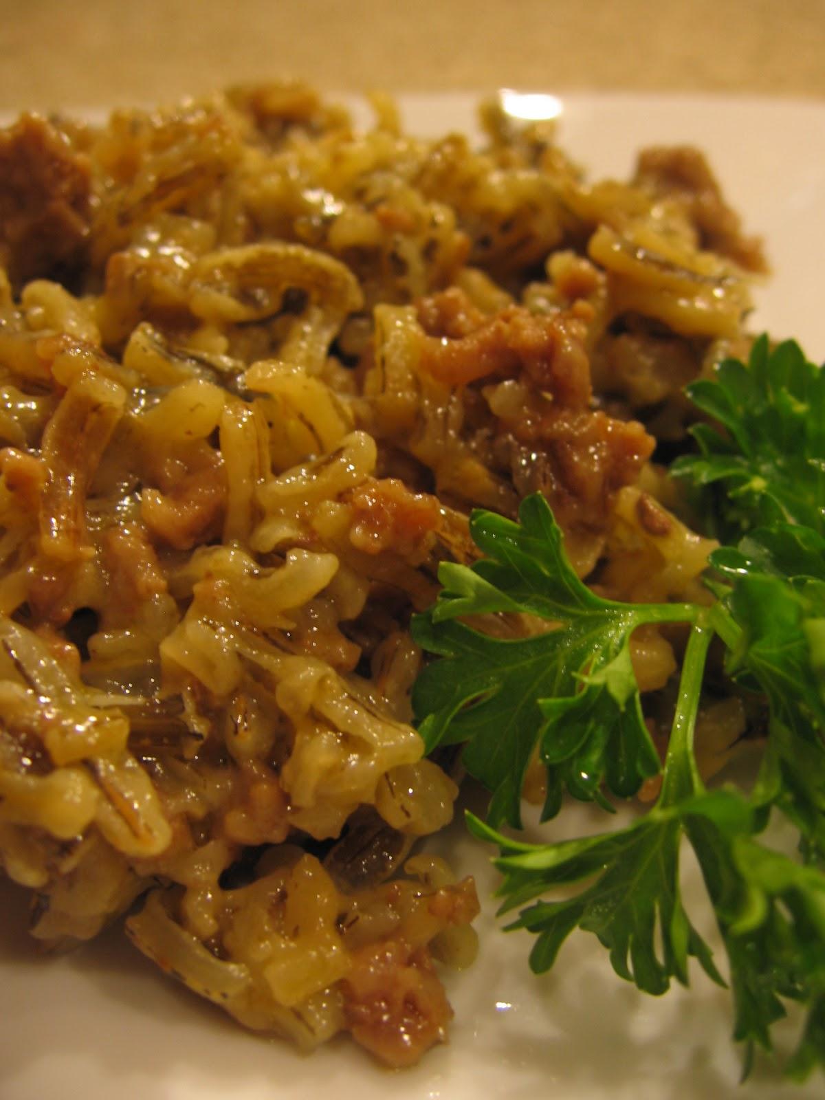 cookin' up north: Minnesota Wild Rice Hot dish