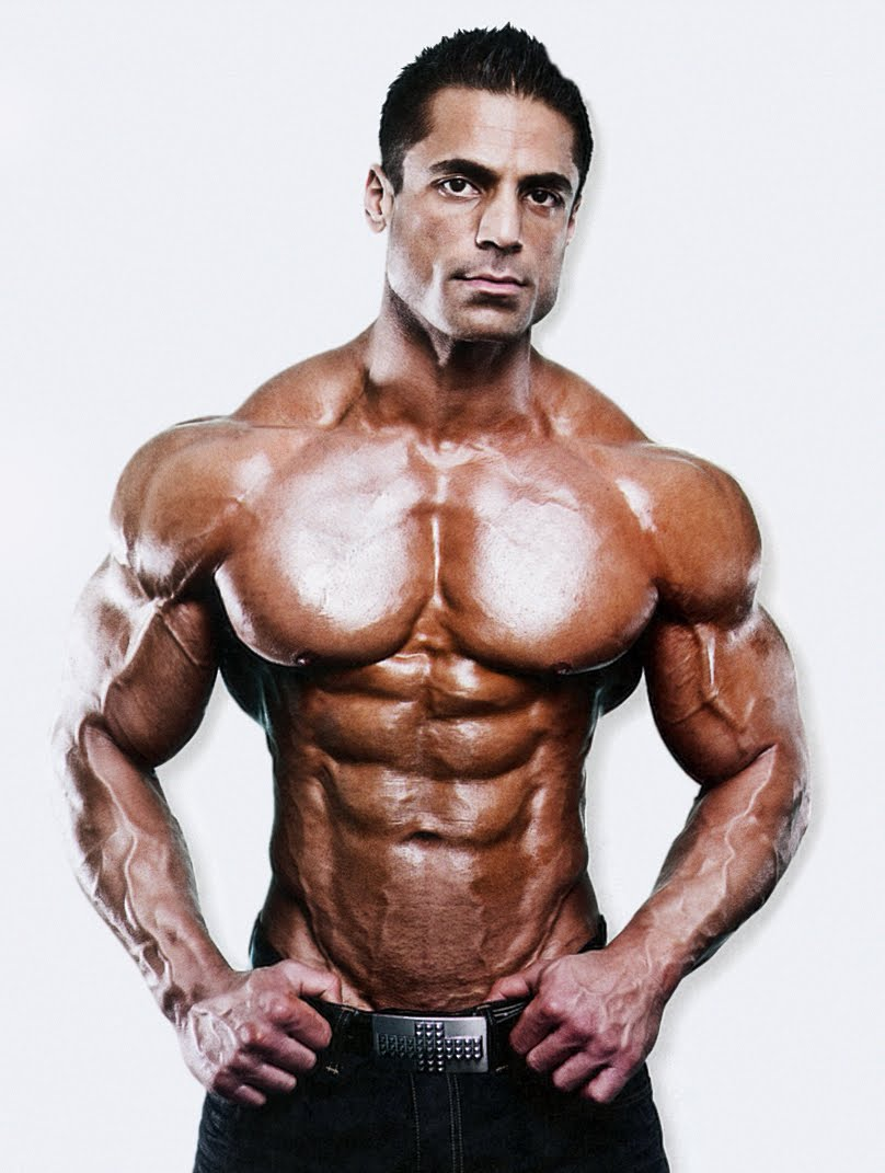 Natural Male Bodybuilding Models
